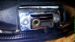 Как убрать бряканье крышки багажника на ваз 2108-2114