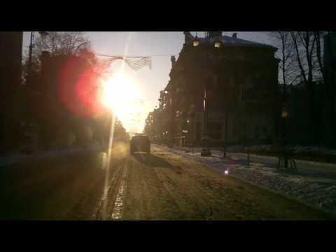 Weather in Vilnius, Lithuania, 2010-03-16, temperature - minus 9 C from Oras TV
