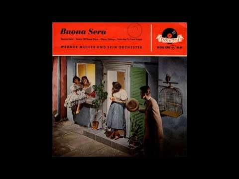 Werner Müller And His Dance Orchestra - Buona Sera [1958] (EP 7inch Album)