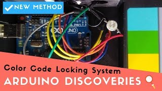 New Method: Color Code Locking System | 🔎Arduino Discoveries