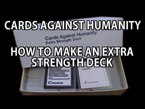 make custom cards against humanity