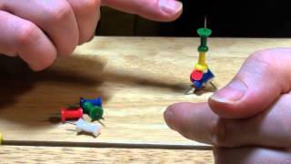 A Push Pin Puzzle Solution