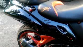 2008 Hayabusa 1340 Black and orange