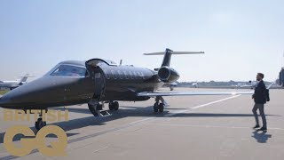 Learjet 75 private jet review with Stratajet | British GQ