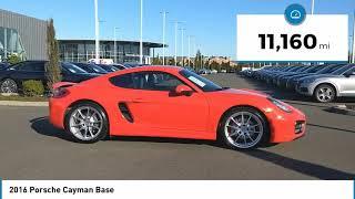 2016 Porsche Cayman 2016 Porsc…