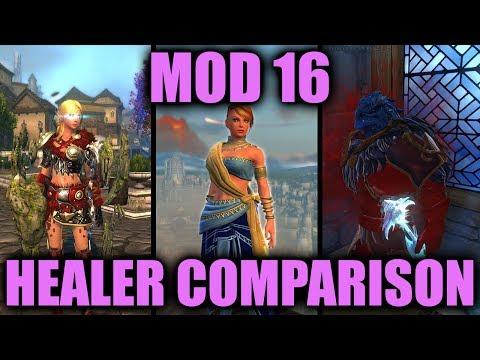 ➕ Neverwinter Mod 16 Healer Comparison