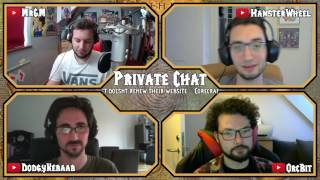 Private Chat #9 Highlights: - Corecraft Doesn't renew their Website