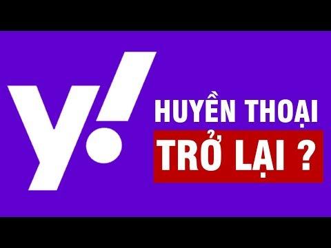 Yahoo Đổi Logo Mới, Đánh Dấu Sự Trở Lại Của Huyền Thoại 1 Thời?