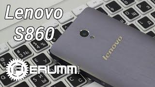 Lenovo s860 важный осмотр двухсимника из батареей для 0000 мАч. Все ради Lenovo s860 с FERUMM.COM