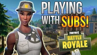 Fortnite - Playing With Subs! // Open Lobby! (Xbox One X)