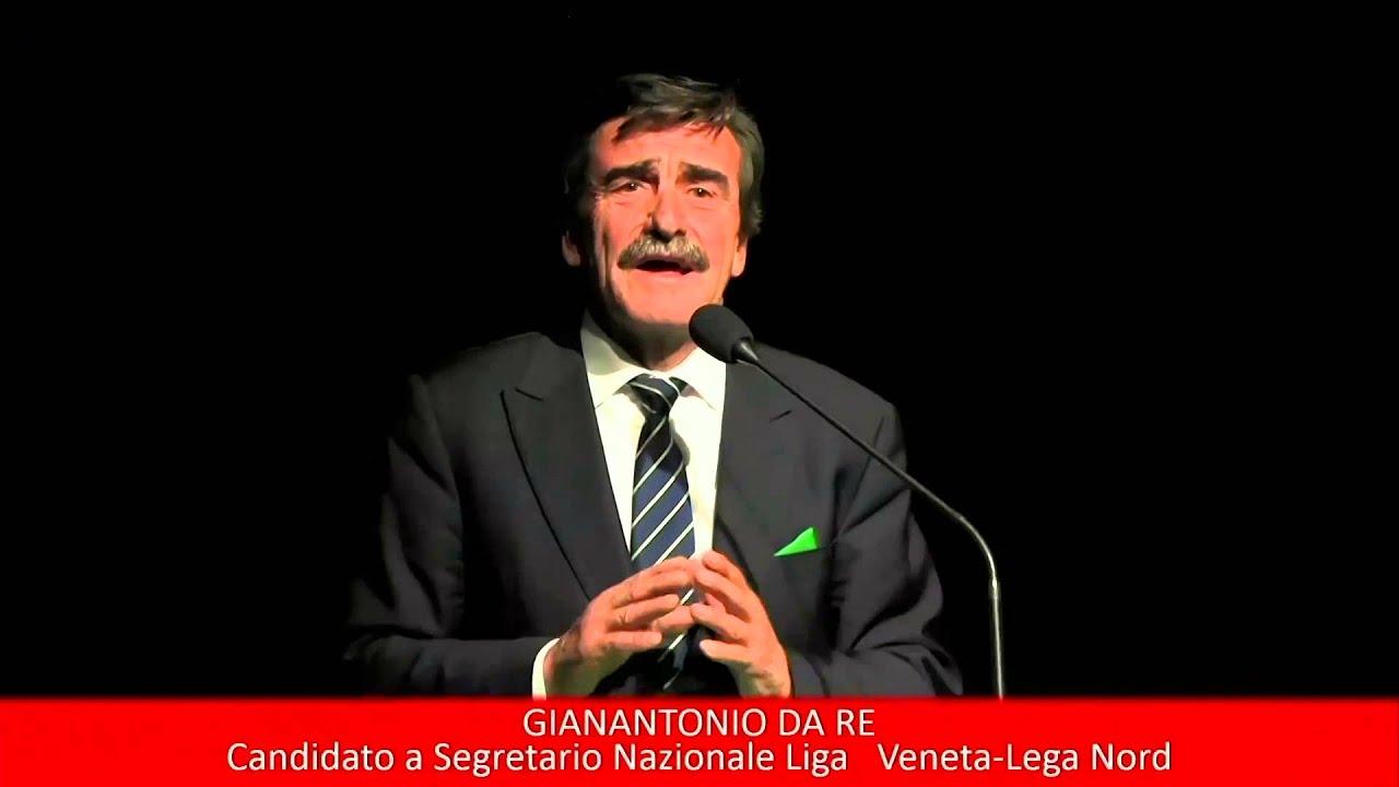INTERVENTO GIANANTONIO DA RE CONGRESSO NAZIONALE LEGA NORD VERONA 7 FEBBRAIO 2016