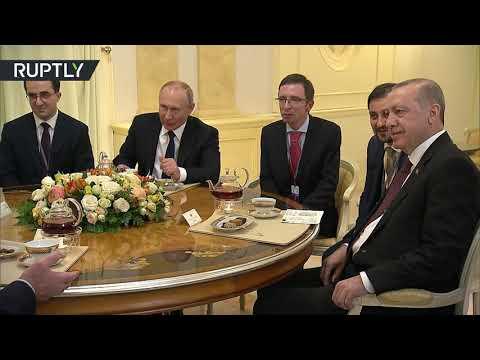 شاهد.. جلسة شاي تجمع بوتين وأردوغان وروحاني ولوكاشينكو  - نشر قبل 37 دقيقة