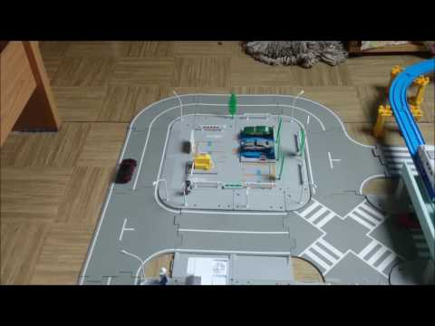 Tomica City/Gare, parking, caserne de pompier et garage #1 french