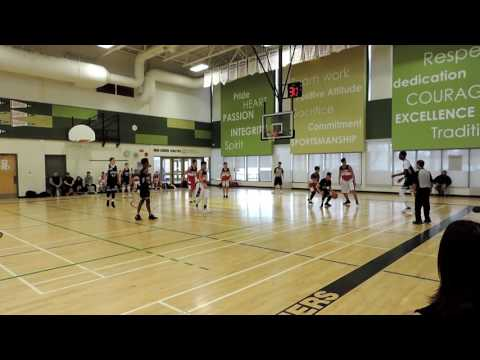 PBA Final vs  Junior Alliance March 2017