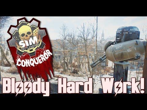 BEING A RAIDER IS HARD!! || Sim Settlements: Conqueror