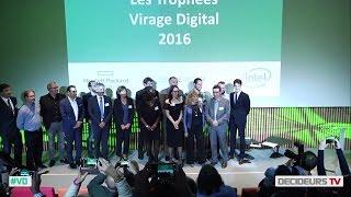 Les Trophées Virage Digital 2016