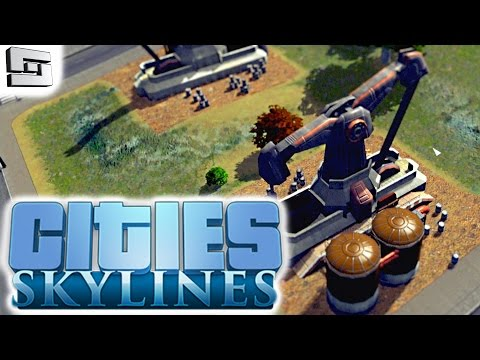 Cities Skylines Gameplay: WE STRUCK OIL!!! E3