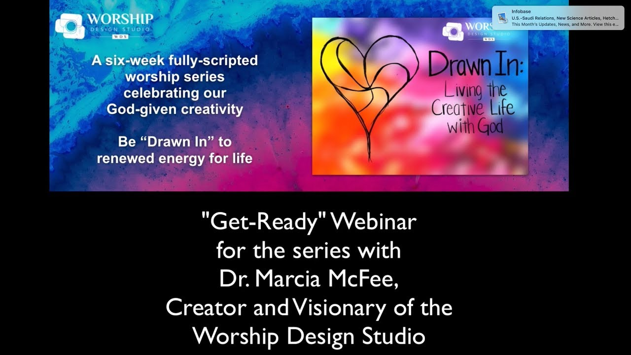 Get Ready Webinar For The Drawn In Worship Series On Creativity From Wds Youtube