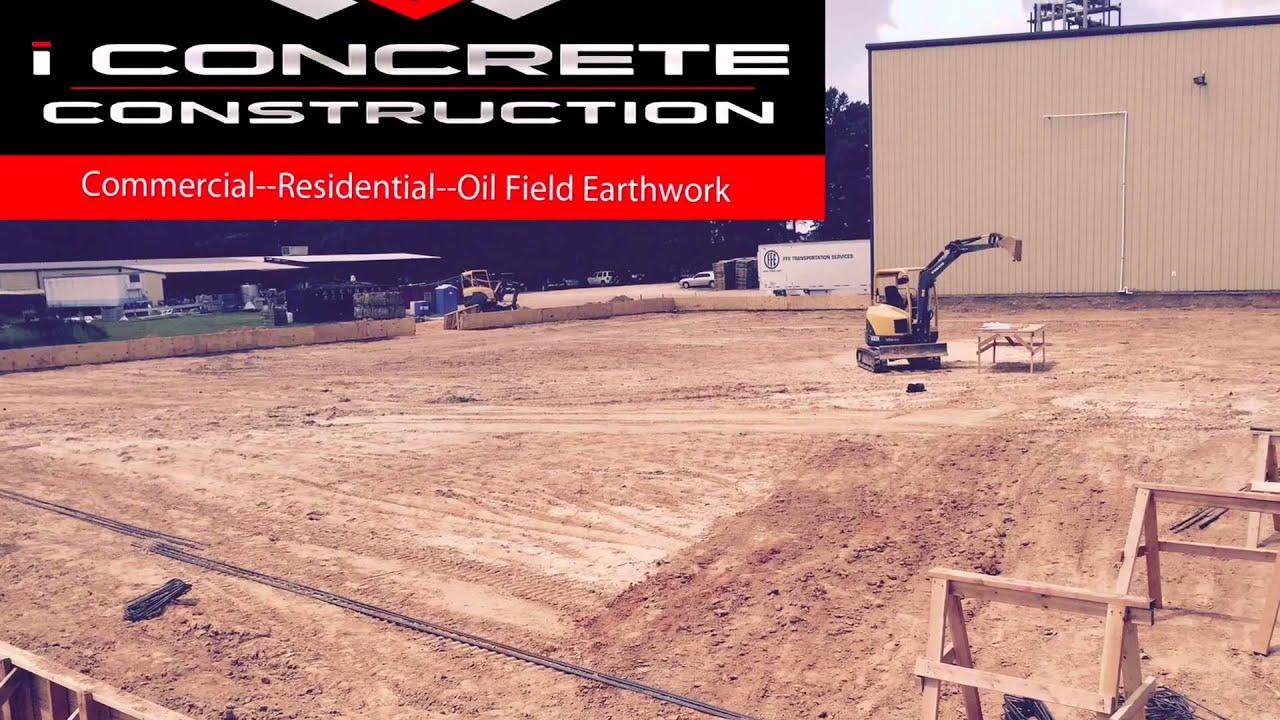 iConcrete Construction, Best Concrete Contractor near me, Top 3 Concrete  Contractors, 318-655-8422