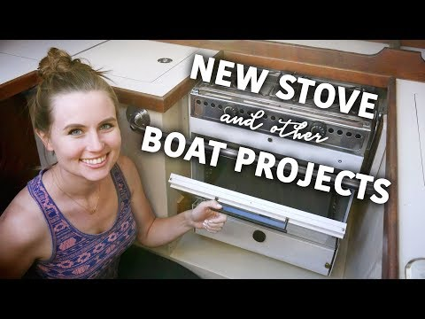 New Stove and Boat Projects! - Sailing ShaggySeas Ep. 4
