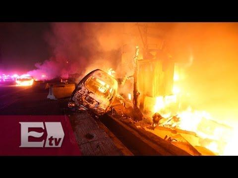 Murieron 24 personas en un accidente de tránsito en México