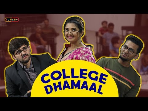 College Dhamaal | College Life | Dokyala Shot | Funcho Entertainment