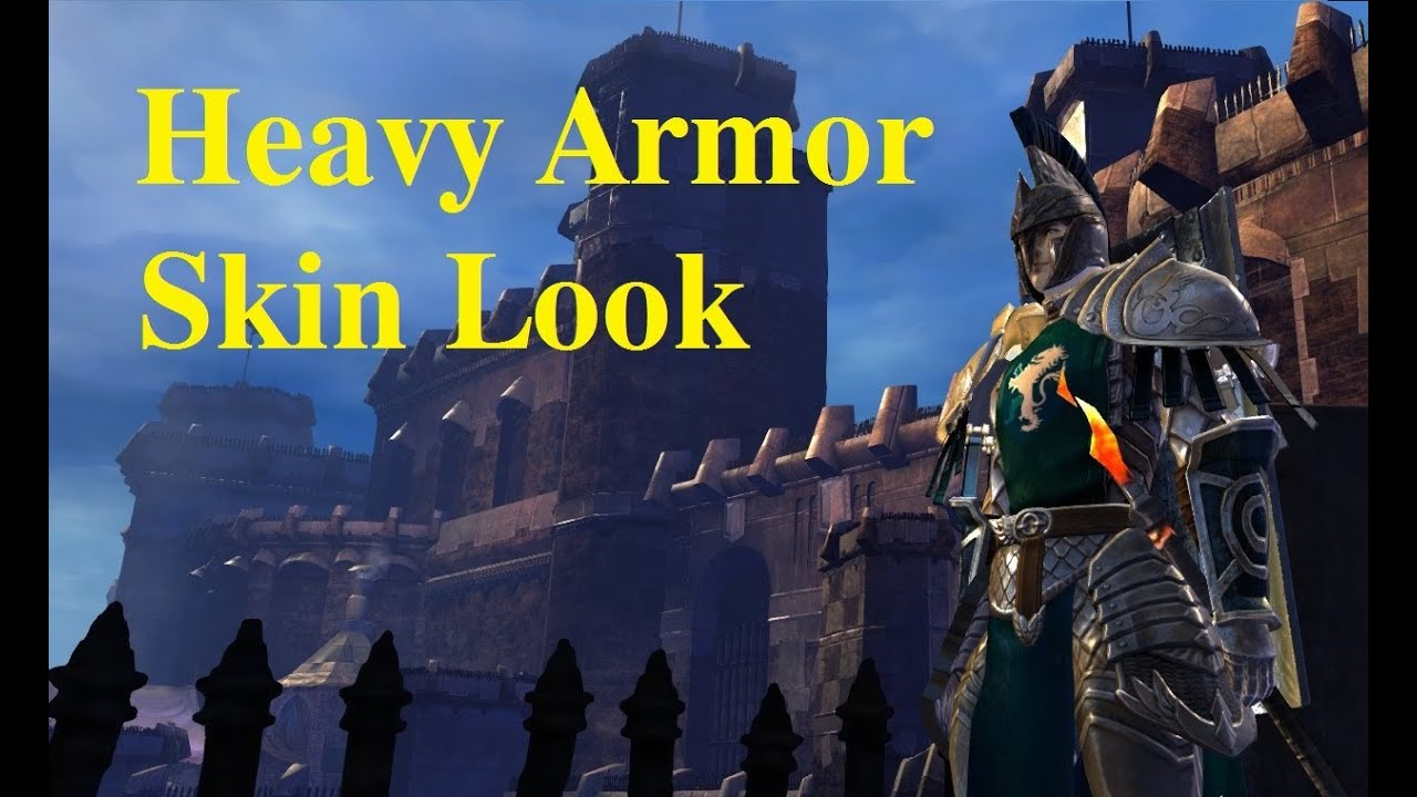 Guardian Heavy Armor Set - Guild Wars 2 Skin