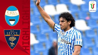 SPAL 5-1 Lecce | SPAL Win Big with Floccari's First Goal of the Season! | Round 4 | Coppa Italia