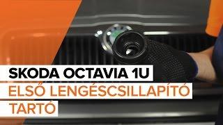 Hogyan cseréljünk Axiális Csukló Vezetőkar SKODA OCTAVIA (1U2) - video útmutató