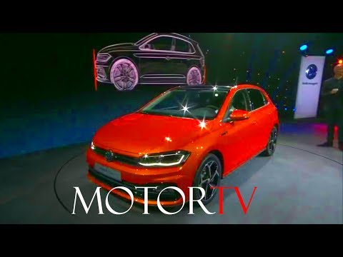 WORLD PREMIERE : NEW 2018 VOLKSWAGEN POLO REVEAL l Press Conference (ENG)