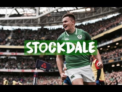 Jacob Stockdale || Ireland Highlights - INSANE TRIES