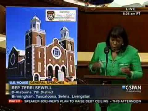 Congresswoman Sewell Honors the 145th Anniversary of Brown Chapel AME Church
