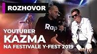 Exkluzívny rozhovor s Kazmom a tisíce fanúšikov elektronických športov. To bol Y-fest 2019