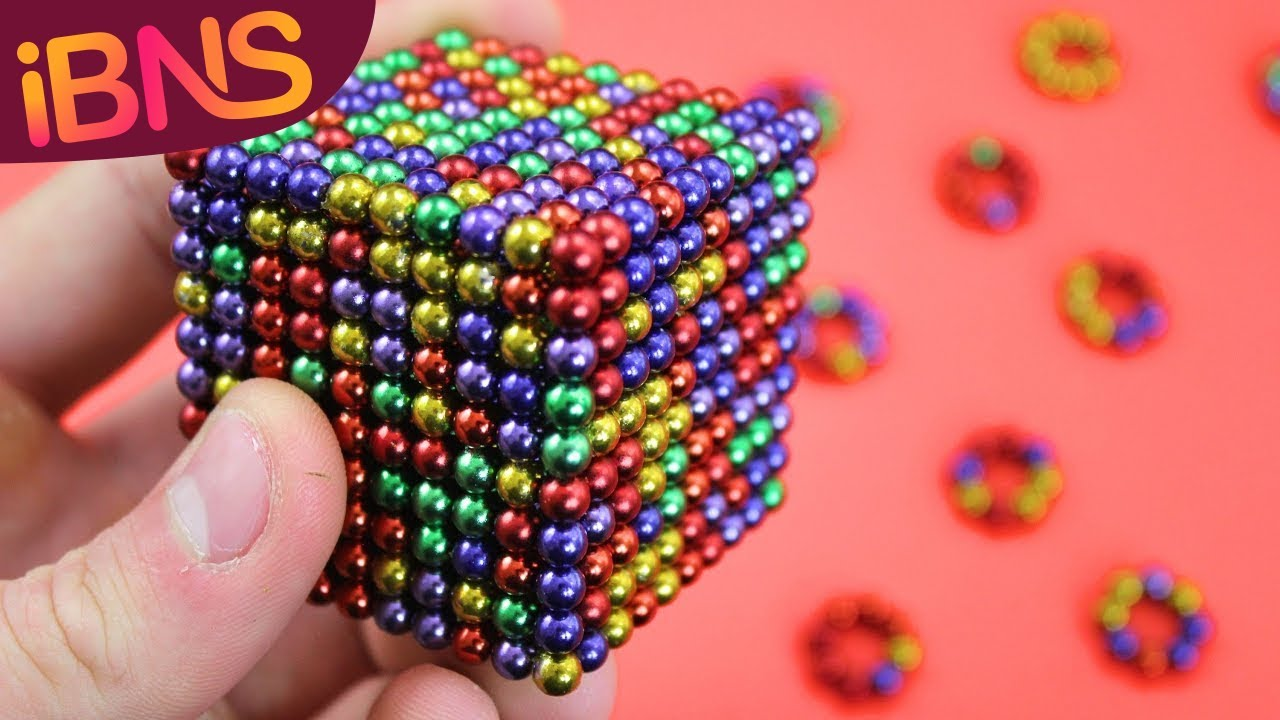What Types Of Magnets Are There Cool Magnet Man >> Playing With 1000 Mini Magnetic Balls Fun With 1000 Cube Buckyballs