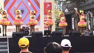2017年9月23日 韓国ソウル    「日韓文化交流おまつり」前日、若者の街...