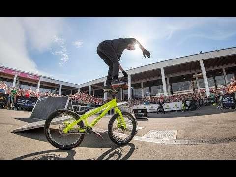 Drop and Roll POV action from Eurobike 2016 - RAW