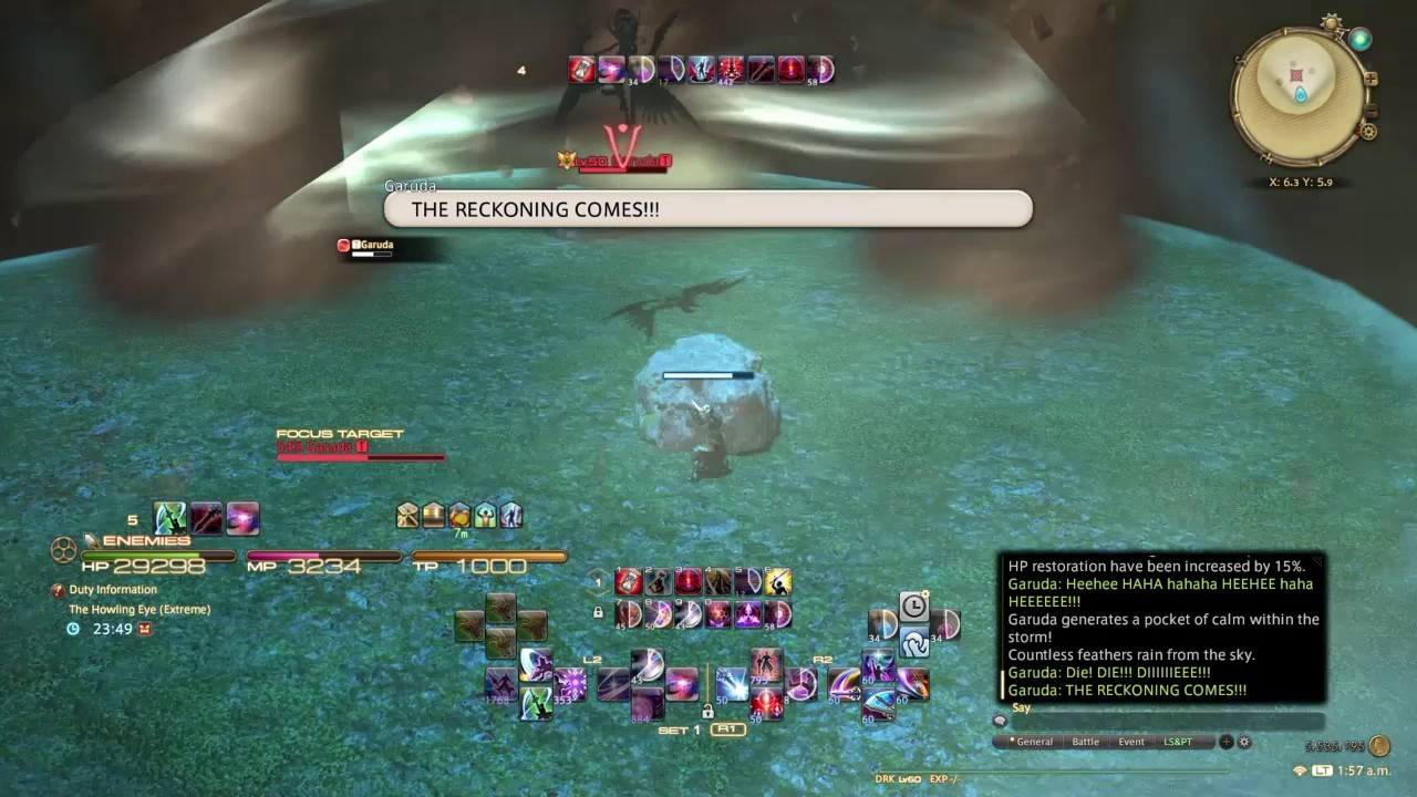 FFXIV Garuda EX Dark Knight Solo