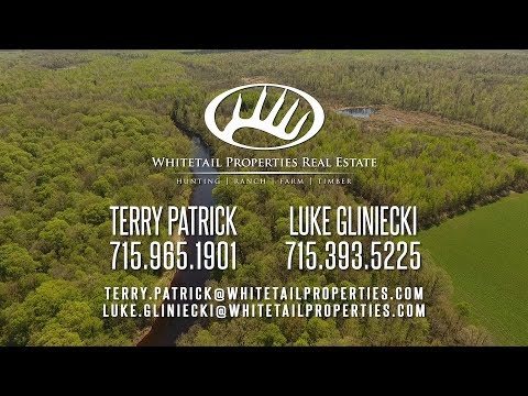 Scenic Black River Hunting, Fishing And Recreational Land For Sale – Taylor Co WI 204.74 Acres