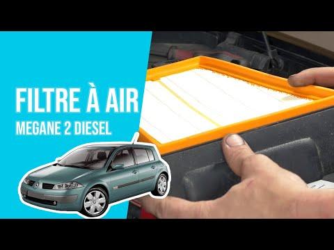 tuto renault megane 2 diesel changer le filtre air youtube. Black Bedroom Furniture Sets. Home Design Ideas