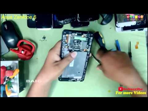 Asus Zenfone 6 Battery Replacement ,disassembly all inside Parts Of zenfone 6-escbaig