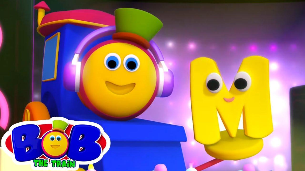 Canzone Dell'alfabeto | Lettera M | Cartoni animati | Bob The Train Italiano | Canzoni per bambini
