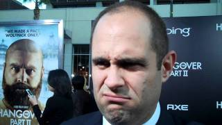 Craig Mazin at 'The Hangover 2' premiere