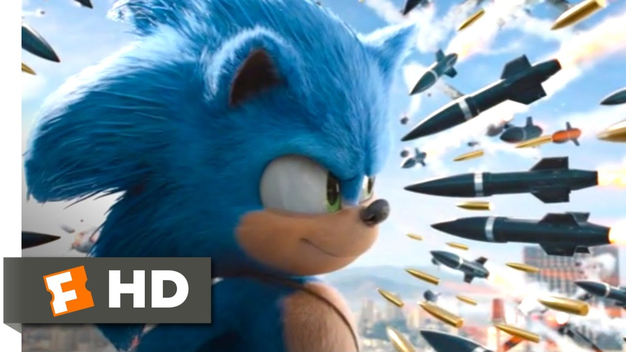 Download Sonic the Hedgehog (2020) - Rooftop Missile Chase Scene (8/10) | Movieclips