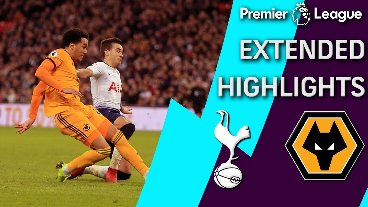 Tottenham v. Wolves | PREMIER LEAGUE EXTENDED HIGHLIGHTS | 12/29/18 | NBC Sports
