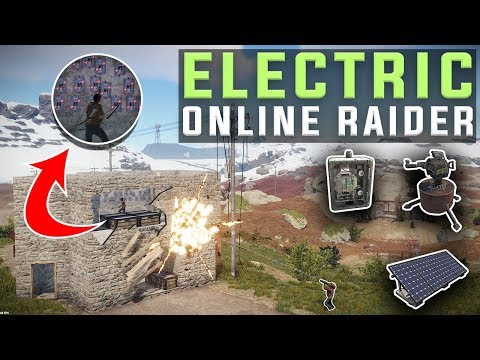 AUTOMATED Electric Trap IMPRESSES Online Raider - Rust Electricity Trap