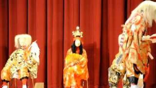 波野中学校・神楽