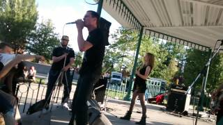 "The Rebel Spell: ""I Am A Rifle"" live at Adstock 2014"