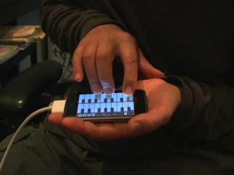 Pocket Organ C3B3 - Glissando effect control