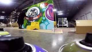 YUMS LIDS 20th Graffiti