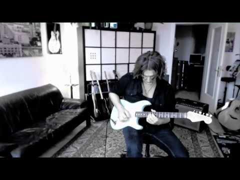 Fender Stratocaster John Page Era Daphne Blue - Jeff Beck Style